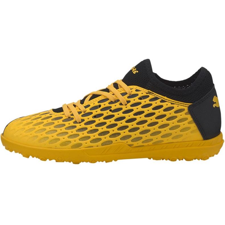 Buty piłkarskie Puma Future 5.4 Tt Jr 105813 03 żółte żółte