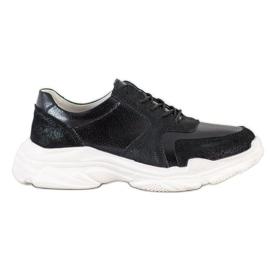 Sneakersy VINCEZA czarne