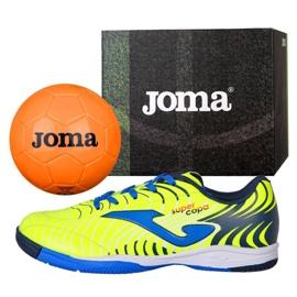 Buty halowe Joma Super Copa Jr 2011 In Jr SCJS.2011.IN żółte żółty