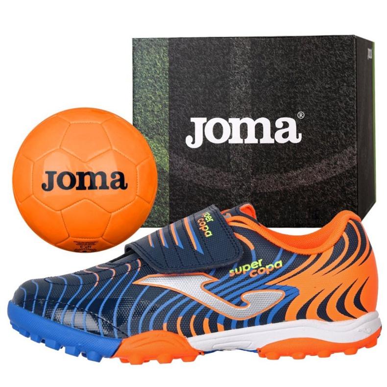 Buty piłkarskie Joma Super Copa Jr 2003 Tf Jr SCJS.2003.TF pomarańczowe pomarańczowy