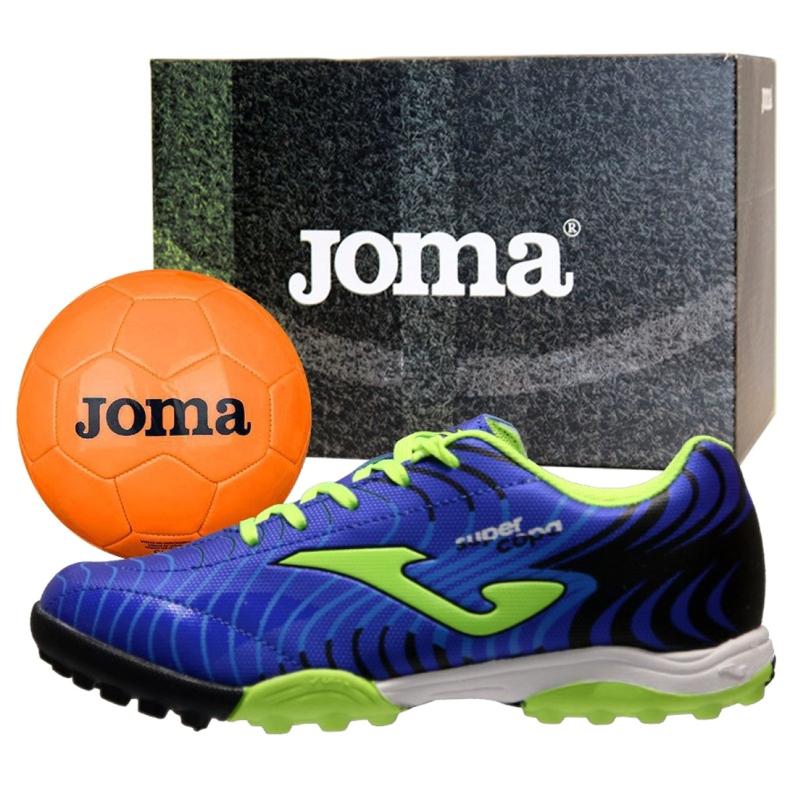Buty piłkarskie Joma Super Copa Jr 2004 Tf Jr SCJS.2004.TF granatowe granatowe