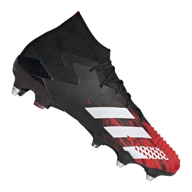 Buty piłkarskie adidas Predator 20.1 M Sg EF1647 czarne czarny, czerwony