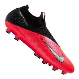 Buty Nike Phantom Vsn 2 Elite Df AG-Pro M CD4160-606 czerwone wielokolorowe
