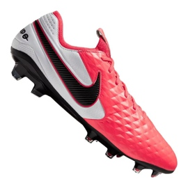 Buty piłkarskie Nike Legend 8 Elite Fg M AT5293-606 czerwone wielokolorowe