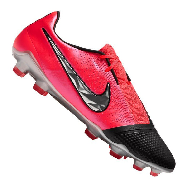 Buty piłkarskie Nike Phantom Vnm Elite Fg M AO7540-606 czerwone wielokolorowe
