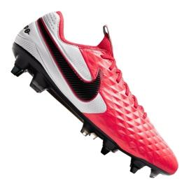Buty Nike Legend 8 Elite Sg Pro Ac M AT5900-606 czerwone wielokolorowe