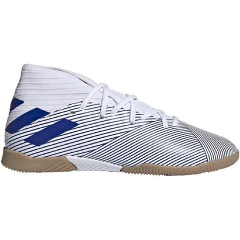 Buty halowe adidas Nemeziz 19.3 In M EG7224 białe wielokolorowe