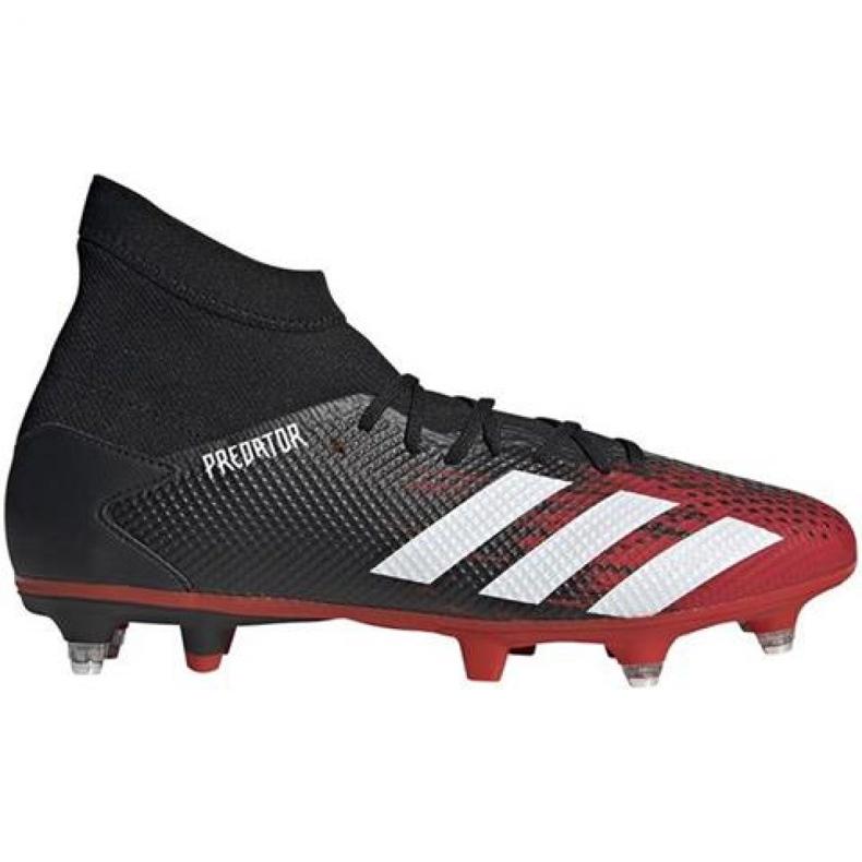 Buty piłkarskie adidas Predator 20.3 Sg M EF1998 czarne wielokolorowe