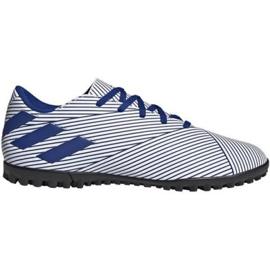 Buty piłkarskie adidas Nemeziz 19.4 Tf M FV3315 wielokolorowe białe
