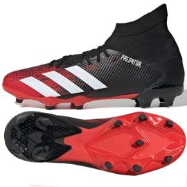 Buty piłkarskie adidas Predator 20.3 Fg M EE9555 czarne wielokolorowe