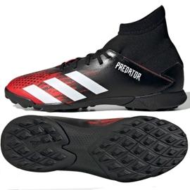 Buty piłkarskie adidas Predator 20.3 Tf Jr EF1950 wielokolorowe czarne