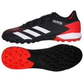 Buty piłkarskie adidas Predator 20.3 Tf M EF1996 wielokolorowe czarne