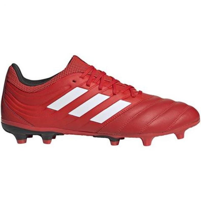 Buty piłkarskie adidas Copa 20.3 Fg M G28551 czerwone czerwone