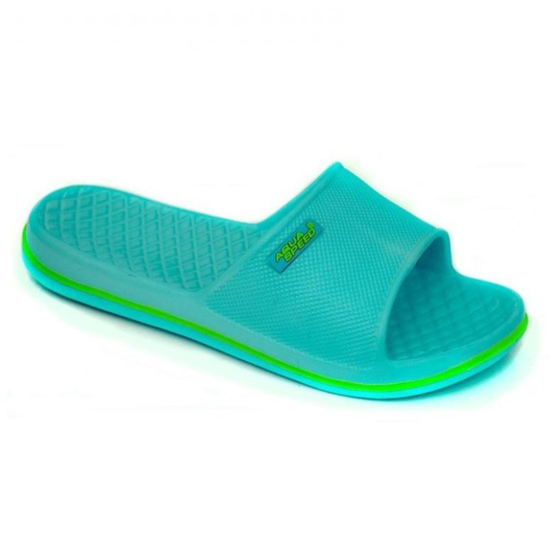 Klapki Aqua-Speed Cordoba niebieskie 02 /494