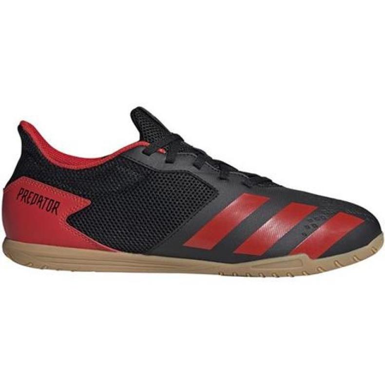 Buty halowe adidas Predator 20.4 In Sala M EE9580 wielokolorowe czarne