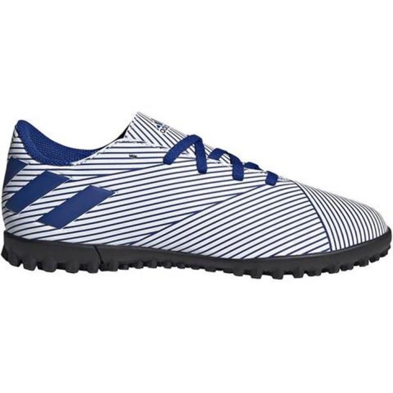 Buty piłkarskie adidas Nemeziz 19.4 Tf Jr FV3313 niebieskie wielokolorowe