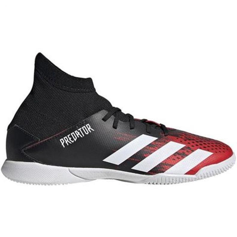Buty halowe adidas Predator 20.3 In Jr EF1954 czarny, czerwony czarne