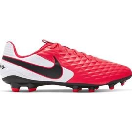 Buty piłkarskie Nike Tiempo Legend 8 Academy FG/MG M AT5292-606 czerwone czerwone