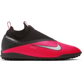 Buty piłkarskie Nike React Phantom Vsn 2 Pro Df Tf M CD4174-606 czerwone czerwone
