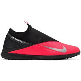 Buty piłkarskie Nike Phantom Vsn 2 Club Df Tf M CD4173-606 czerwone czerwone