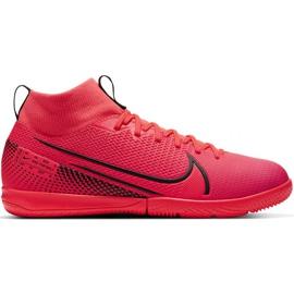 Buty halowe Nike Mercurial Superfly 7 Academy Ic Jr AT8135-606 czerwone czerwone