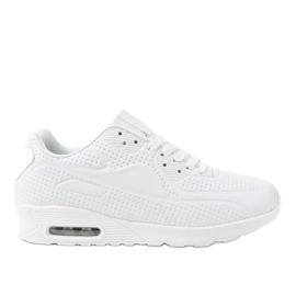 Białe męskie obuwie sportowe M014-3