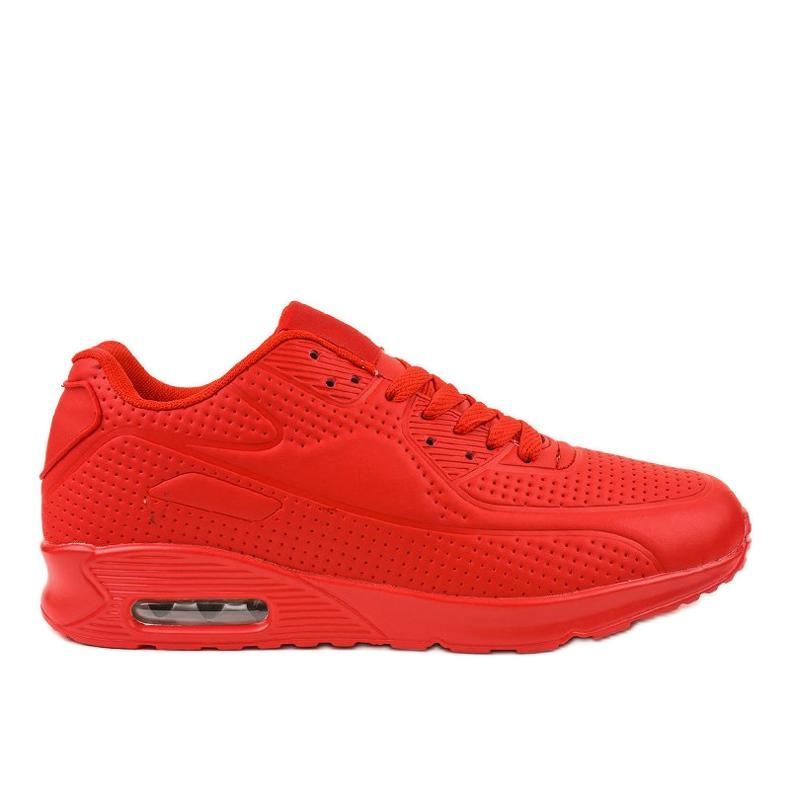 Czerwone męskie obuwie sportowe M014-5