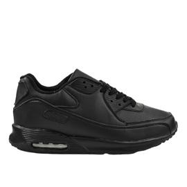 Czarne obuwie sportowe MN68-2
