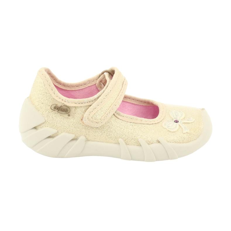 Befado obuwie dziecięce 109P152 żółte