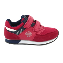 American Club Sportowe buty American czerwone RH20