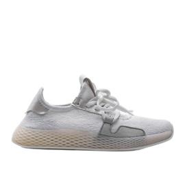Białe obuwie sportowe BL20190-SP