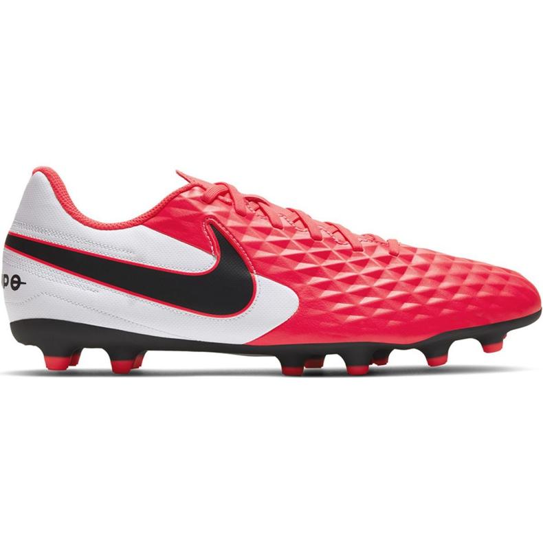 Buty piłkarskie Nike Tiempo Legend 8 Club FG/MG M AT6107-606 czerwone czerwone