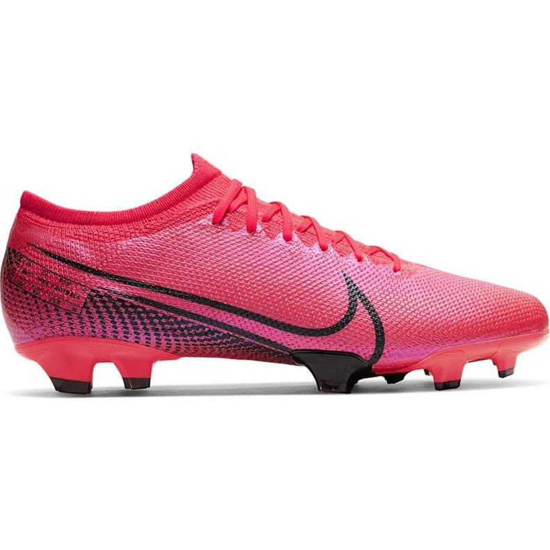 Buty piłkarskie Nike Mercurial Vapor 13 Pro Fg M AT7901-606 czerwone wielokolorowe