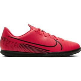 Buty halowe Nike Mercurial Vapor 13 Club Ic Jr AT8169-606 czerwone czerwony