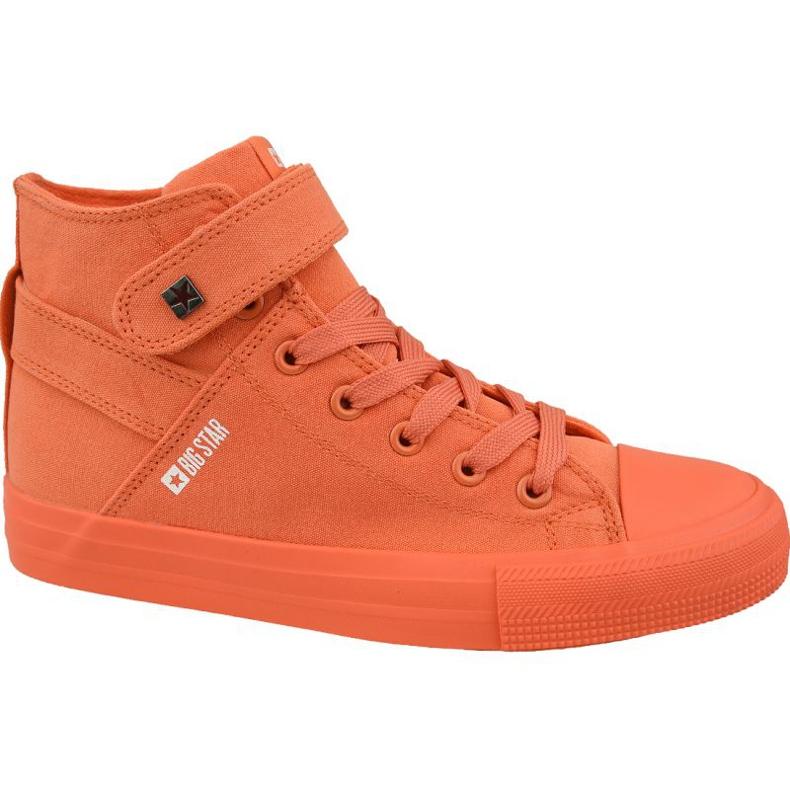 Buty Big Star Shoes W FF274583 pomarańczowe