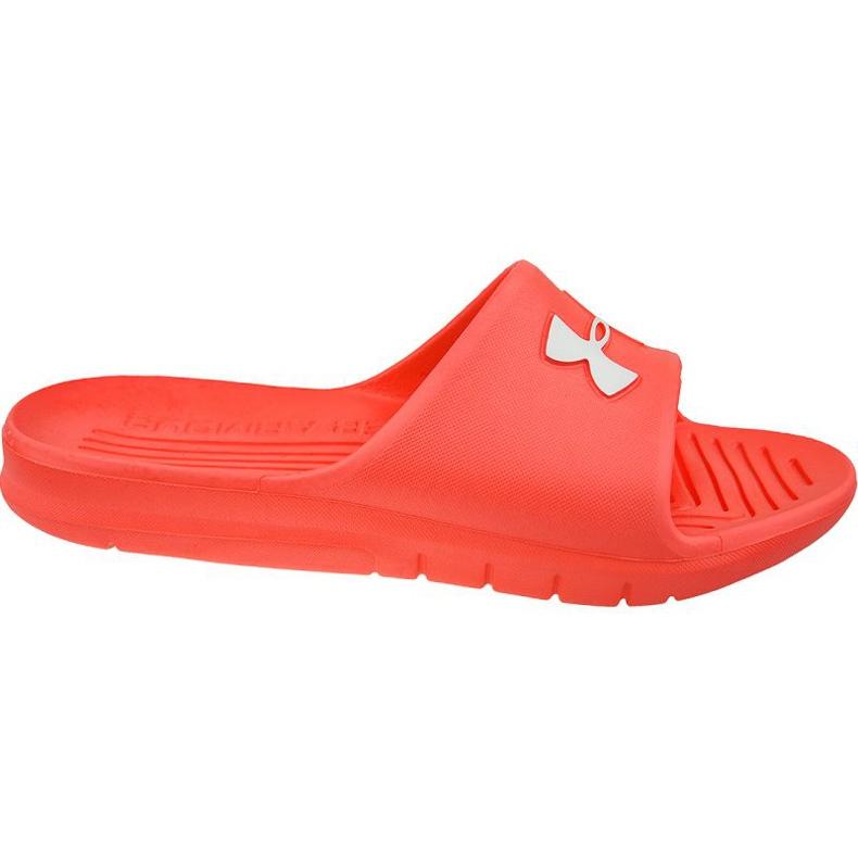 Klapki Under Armour Core Pth Slides 3021286-600 czerwone