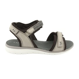 Wygodne Sandały Sportowe Caprice 28606 brązowe