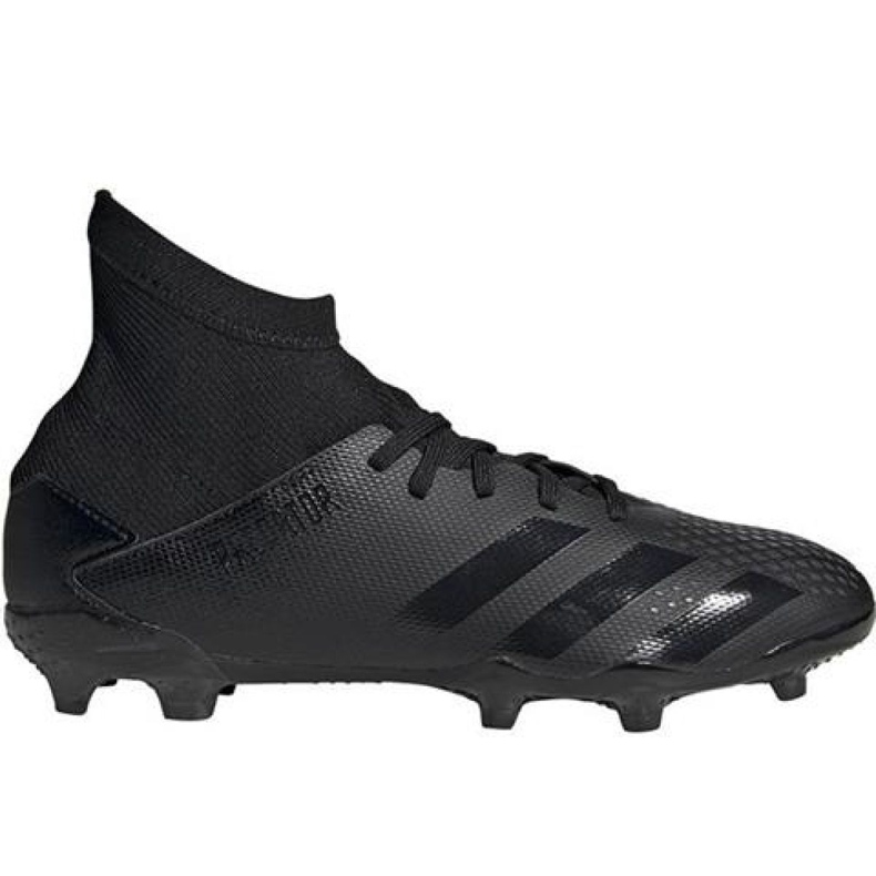 Buty piłkarskie adidas Predator 20.3 Fg Jr EF1929 czarne czarne