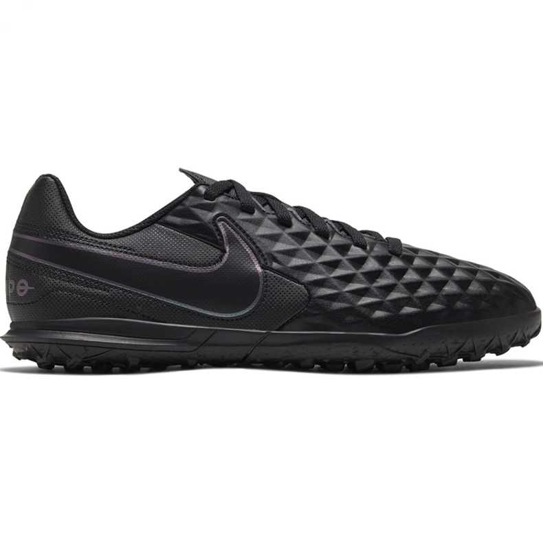 Buty piłkarskie Nike Tiempo Legend 8 Club Tf Jr AT5883-010 czarne czarne