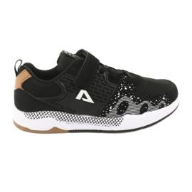American club obuwie dziecięce sportowe BS03 czarne
