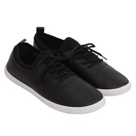 Tenisówki damskie czarne W9782 Black