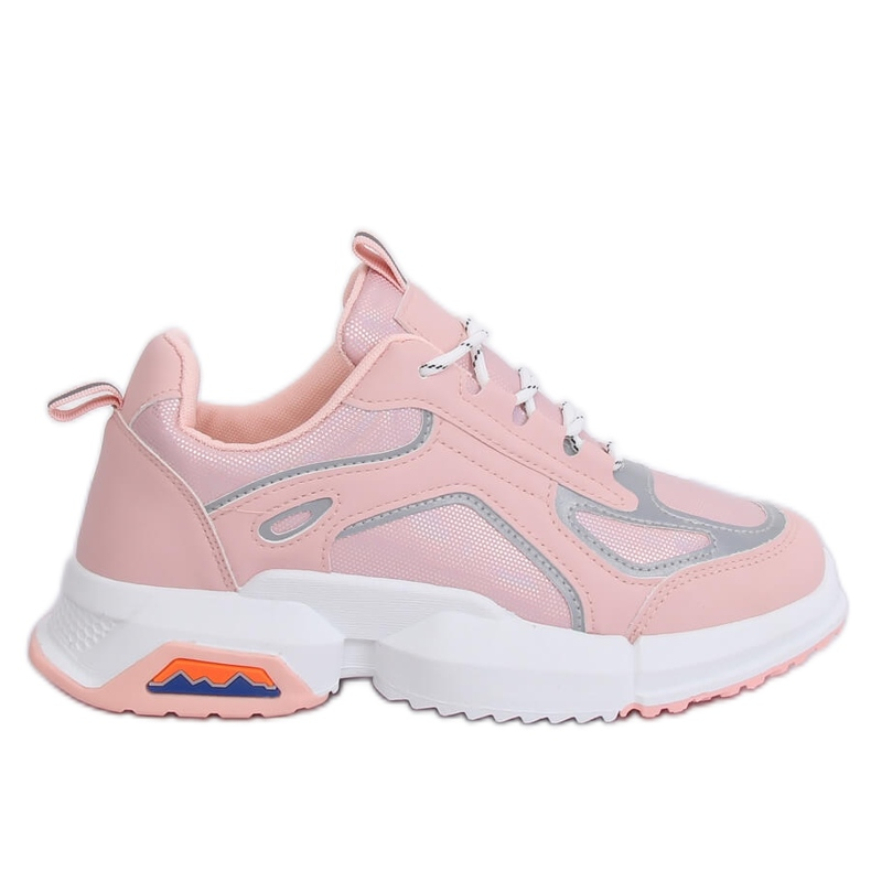 Buty sportowe różowe BO-557 Pink