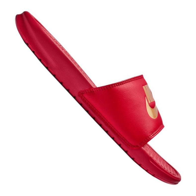 Klapki Nike Benassi Jdi Slide M 343880-602 czerwone