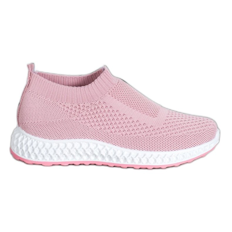 Goodin Ażurowe Buty Sportowe różowe