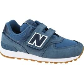 Buty New Balance Jr YV574PRN niebieskie