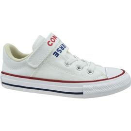 Buty Converse Chuck Taylor All Star Double Strap Jr 666927C białe