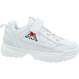 Buty Kappa Rave Nc K Jr 260782K-1010 białe