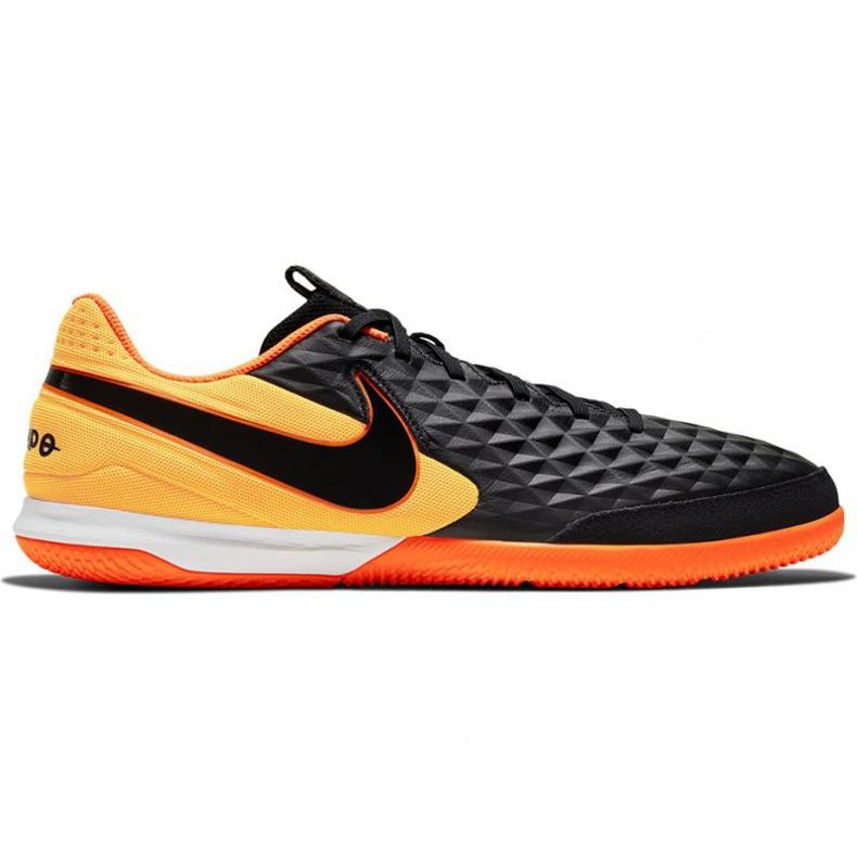 Buty halowe Nike Tiempo Legend 8 Academy Ic M AT6099-008 czarne czarne