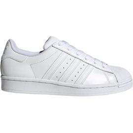Buty dla dzieci adidas Superstar J białe EF5399