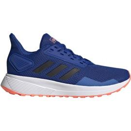 Buty adidas Duramo 9 Jr EG7906 niebieskie